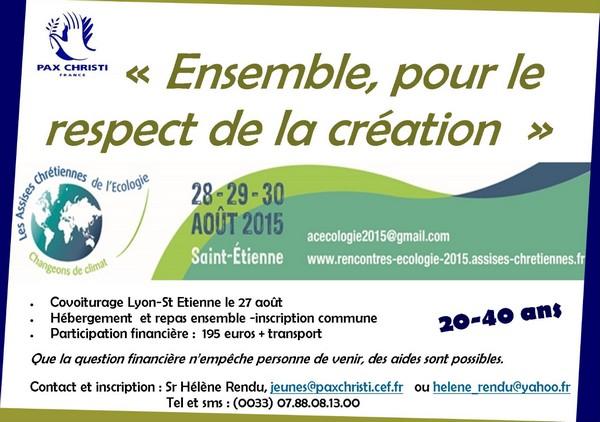 St-Etienne 2015. Jeunes