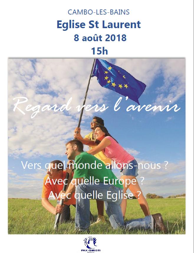 Conférence Cambo -les – Bains 8 août 2018