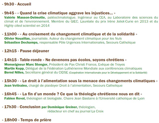 colloque 2015. programme