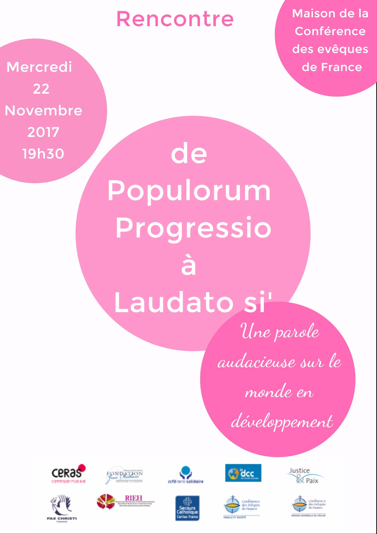 50 ans de l'encyclique  du Pape Paul VI Populorum progressio