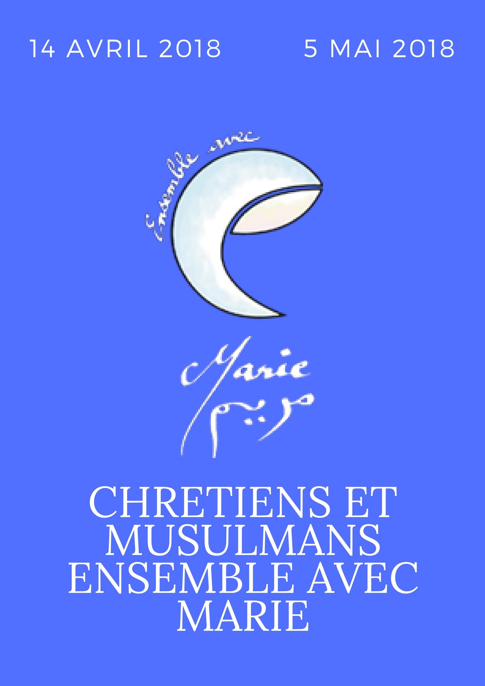 Chrétiens et musulmans ensemble avec Marie