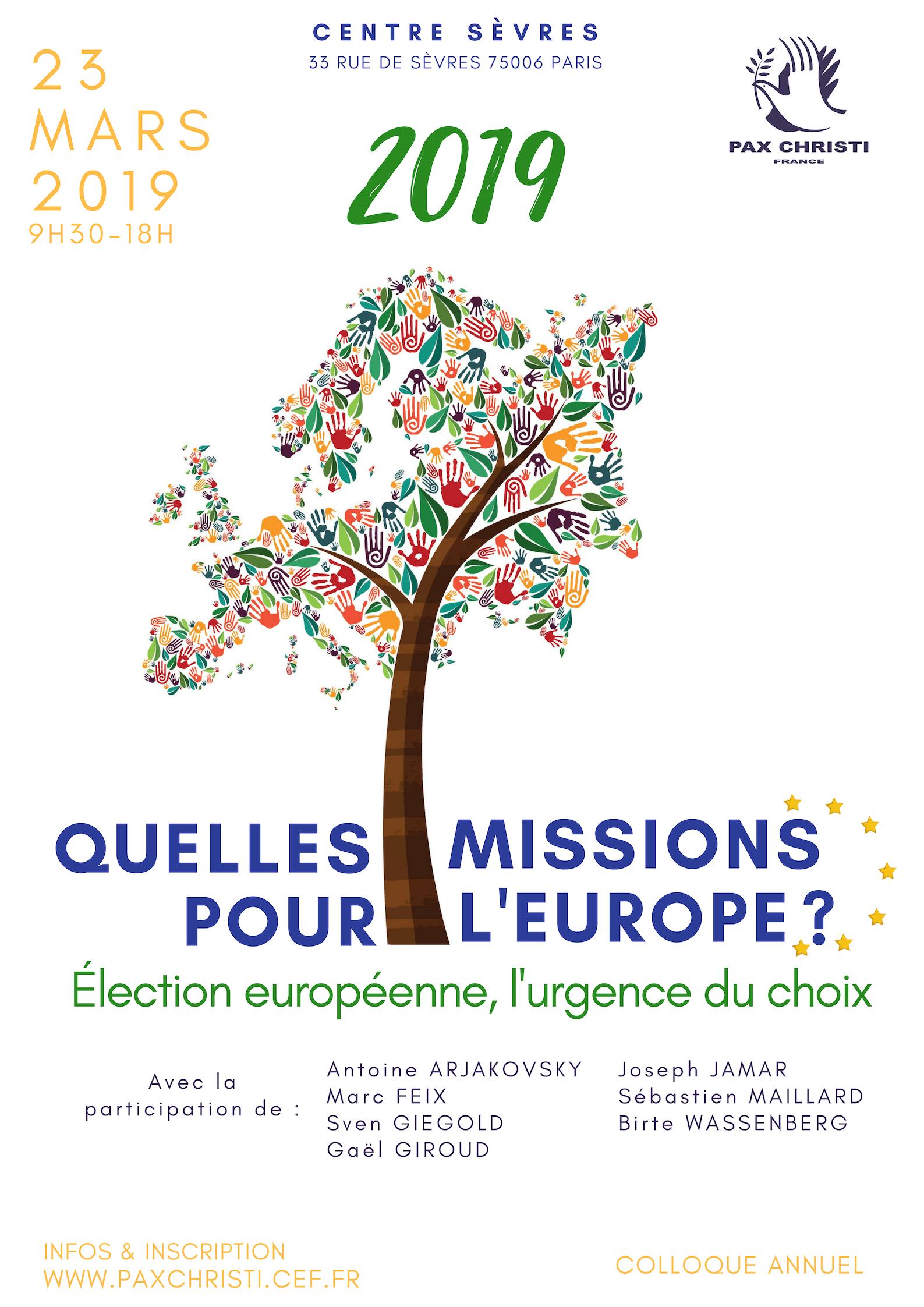 2019, quelles missions pour l'Europe ?